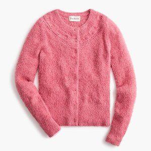 NEW-The Reeds X J.Crew fuzzy cardigan sweater